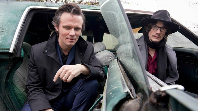 Brothers Luther, left, and Cody Dickinson have been performing with the North Mississippi Allstars since 1996.