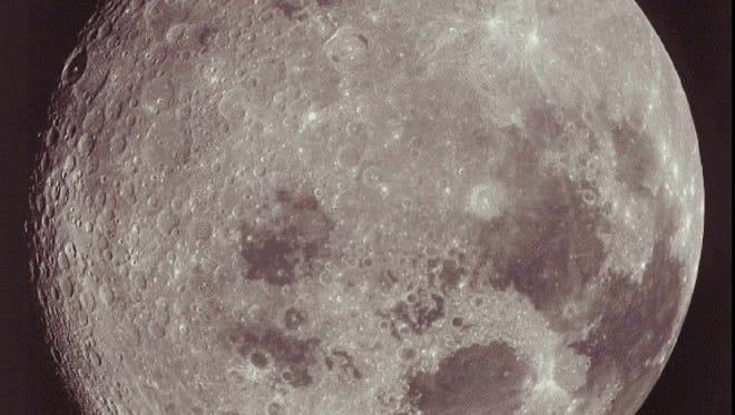 The moon is responsible for the Earth's tides.