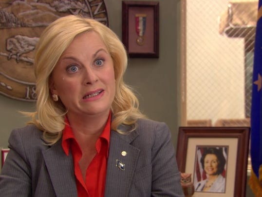 Amy Poehler tells the NRA what they can do with their Leslie Knope meme