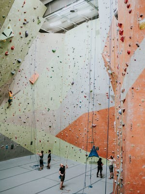 Climb Murfreesboro at Parkside is slated to open in August 2018. The indoor climbing facility will be one of the largest of its kind in Tennessee. Offerings include climbing walls, classes, yoga and a retail shop.