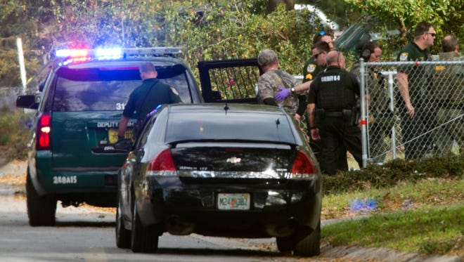 Escambia County Sheriff's Deputies take one man into custody after multi-hour standoff in Ferry Pass area Tuesday afternoon.