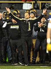 P.J. Fleck led Western Michigan to a 13-1 record in his fourth season as coach last fall. Now he's dealing with a rash of injuries in his first spring at the helm of the Minnesota program.