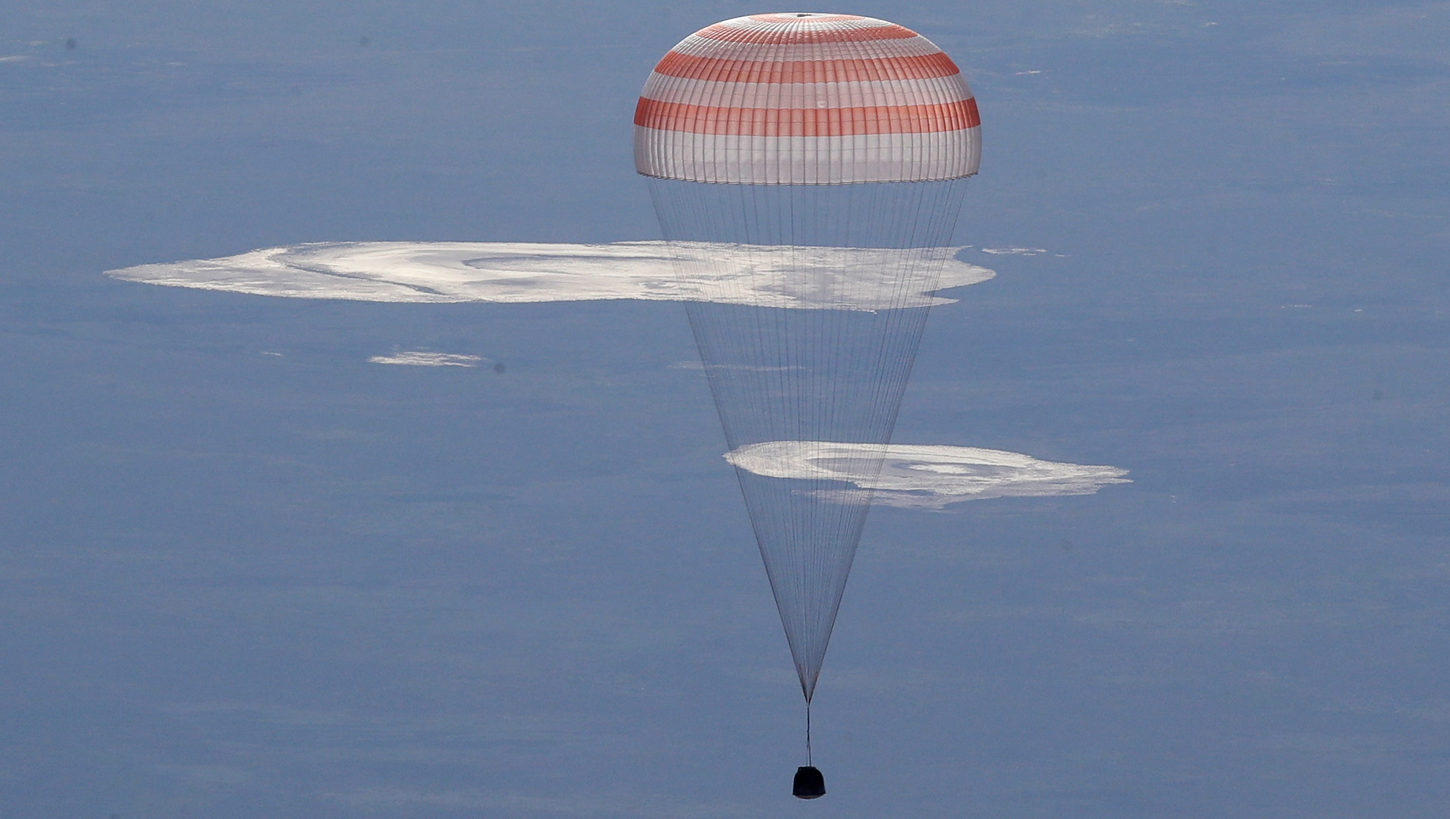 Soyuz crew returns to earth after 168 days in space for Space station usa