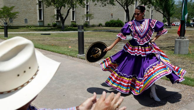 """The Del Mar College Foreign Languages Club will present """"Fiesta Latina"""" from 11:30 a.m. to 1:30 p.m., Wednesday, May 3 in the grassy area between Solomon Coles Classroom Building and Garcia Sciences Building, Del Mar College East Campus, Kosar Street off Staples and Naples streets. Featuring a short history of Cinco de Mayo, traditional Latin music, folklorico dances, Loteria games, flower-making crafts and a piñata along with tamales and aguas frescas. Cost: Free. Information: 361-698-1582 or jmorin@delmar.edu."""