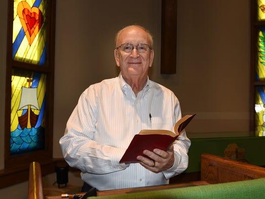 The Rev. Richard Henderson retired last week from Novi's