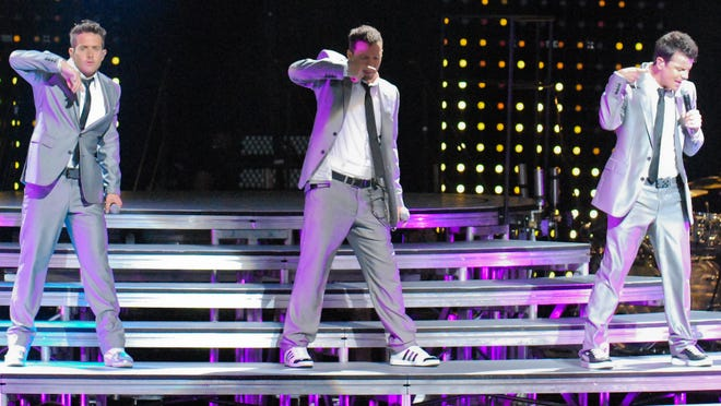 The New Kids on the Block performed at Riverbend Music Center on Saturday, June 27.