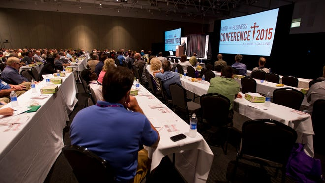 The first Faith and Business Conference was held in 2015.