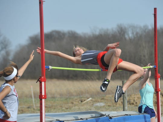 Lexi Evak leaves the school having been a three-time regional qualifier in the high jump and the school record holder in the event, as well as qualifying for regionals on three relay teams and holding the record for the 4x200.