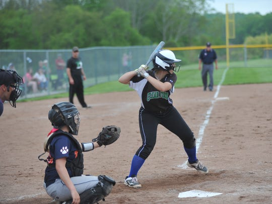 Clear Fork's Macy Wade hit a pair of doubles in her