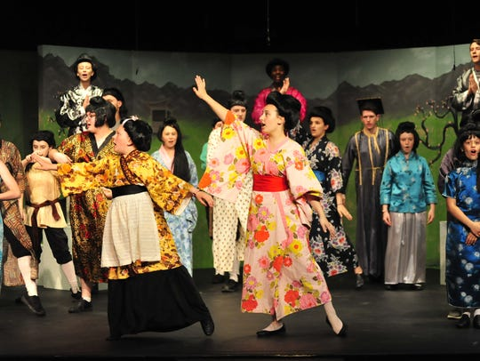The playhouse hosts children in a musical every summer.