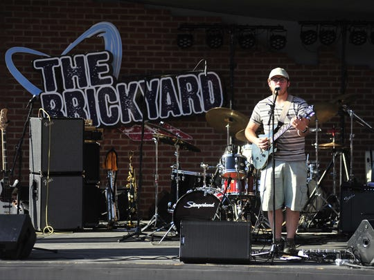 Ricky Mitchell plans to play about 100 shows in the area this year.