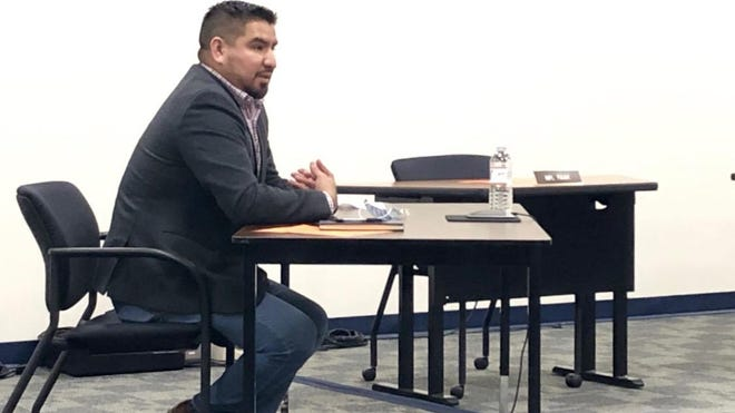 Ricardo Ponce-Suarez was appointed to the Fennville Public Schools Board of Education Wednesday, Nov. 4.