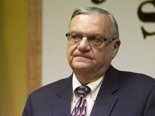 Then-Maricopa County Sheriff Joe Arpaio had Michael