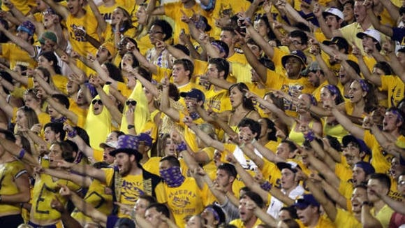 LSU is known for having some of the most hostile fans in college football.