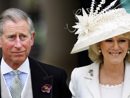 Prince Charles and Camilla Duchess of Cornwall after