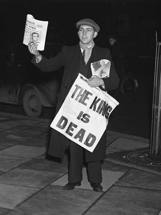 king dead