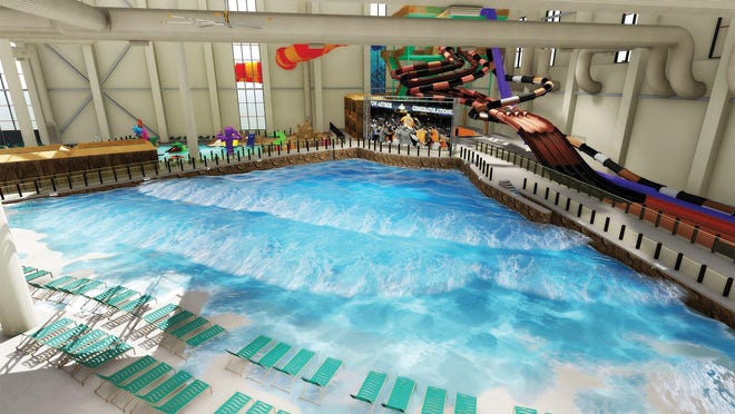 Kalahari Resorts and Conventions is opening the country's largest indoor water park in Round Rock on Thursday.  The site will include a number of attractions, including water slides, restaurants and bars and an Adventurers Club for kids.