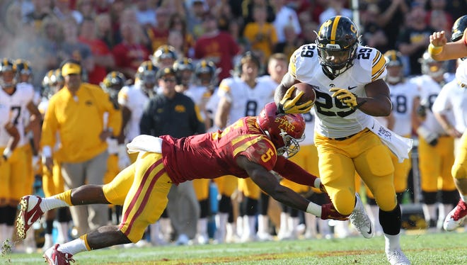 Even if he misses the Pittsburgh game Saturday, LeShun Daniels should be back soon.