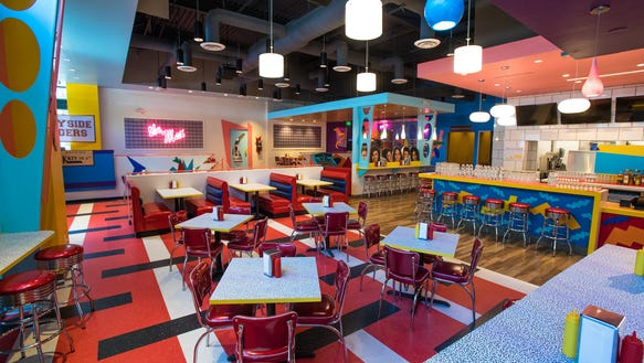 It's 'Saved By the Bell' diner, The Max!