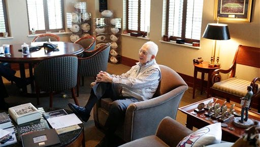 Former SEC commissioner Mike Slive had nearly $3.6 million base compensation for 2014.