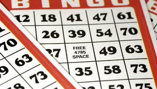 Bingo games are available in St. Lucie County.