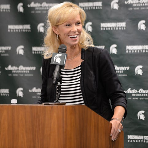 Michigan State women's coach Suzy Merchant 'a lot better' after heart scare this winter