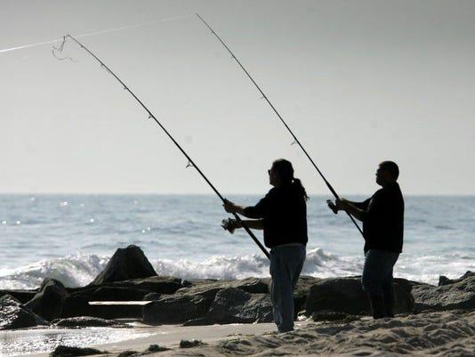 LBI Surf Fishing