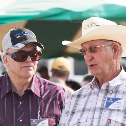 Montana State University professor emeritus Don Anderson,