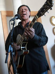 Blues and zydeco veteran Major Handy performs Wednesday
