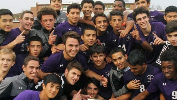 The New Rochelle boys soccer team is back to defend