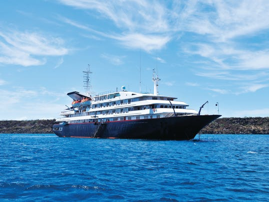 Top luxury ship in Galapagos emerges from makeover