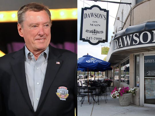 3-time Indy 500 winner Johnny Rutherford picked Dawson's in Speedway.