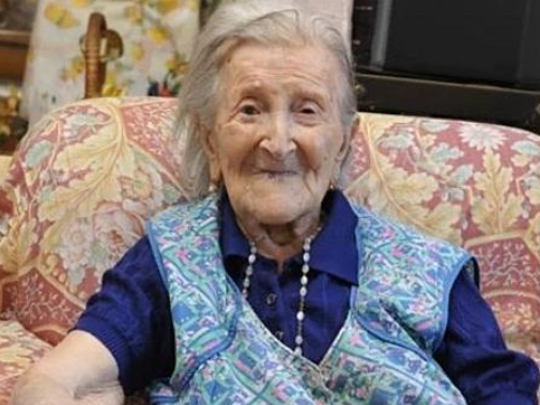 Emma Morano is Europe's oldest living person, born
