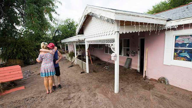 """""""I'm moving this time."""" Laura's house flooded for the second time in less than a year."""