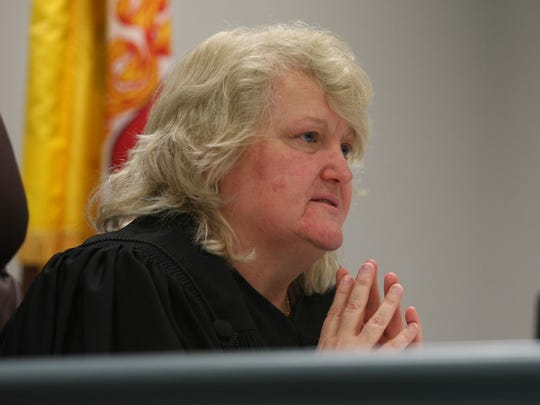Judge Rosemary Ramsey speaks from the bench during the Everett family lawsuit settlement.