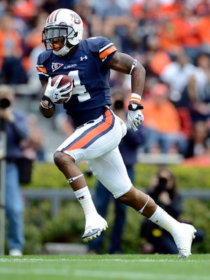 Auburn wide receiver Quan Bray has emerged as the lead punt returner.