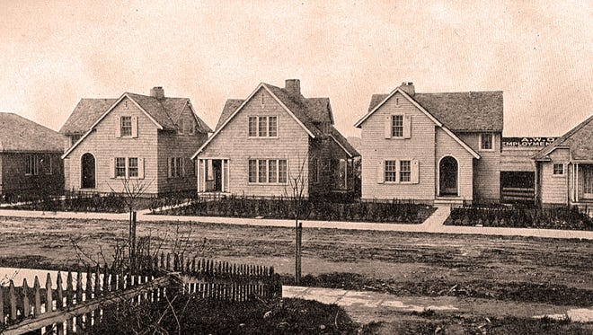 One of the Bremerton neighborhoods constructed in 1918
