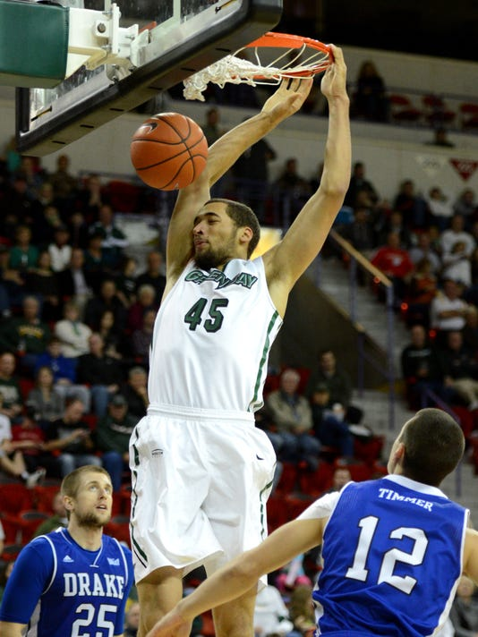 GPG UWGB_Drake Mens Basketball