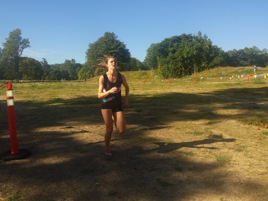 Park Ridge/Emerson junior Samantha Green on her way