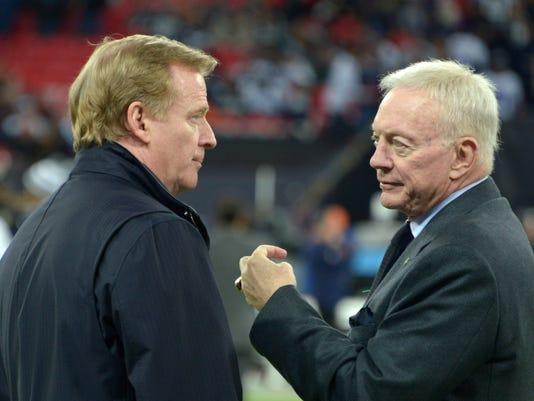 USP NFL: INTERNATIONAL SERIES-DALLAS COWBOYS AT JA S FBN GBR EN