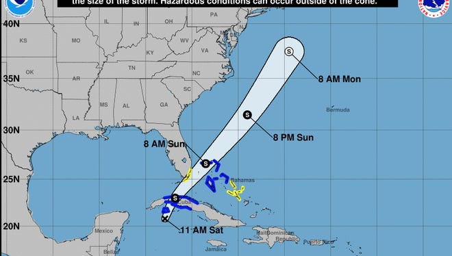 Tropical Depression 18 formed in the Atlantic Saturday.