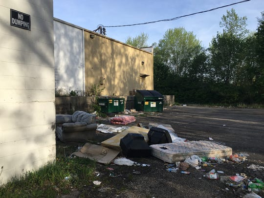 "A ""No Dumping"" sign isn't deterring illegal dumping"