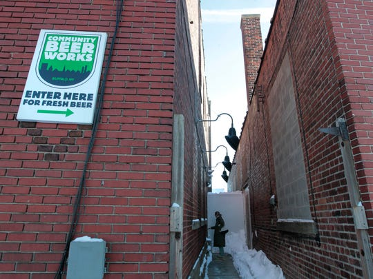 Community Beer Works, located at 15 Lafayette Avenue in Buffalo.