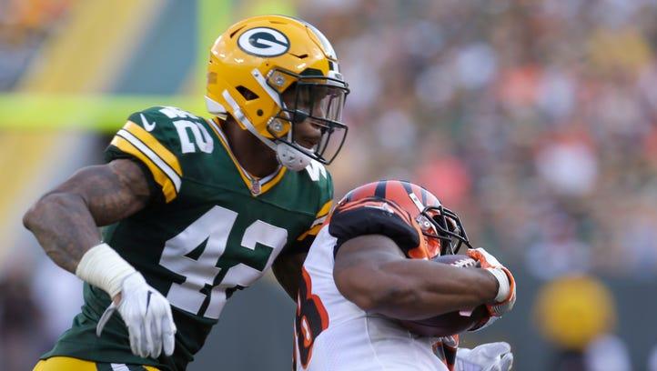Packers take sobering step backward at safety position