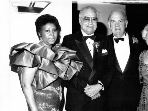 Aretha Franklin, Mayor Coleman Young and Detroit Free