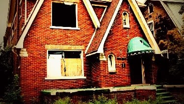 The house at 7124 Tuxedo Street.