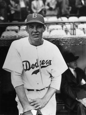 Joe Hatten of Bancroft, Iowa, was the Dodgers' starting pitcher the day Jackie Robinson broke the color line in 1947. Hatten won a career-high 17 games that season.