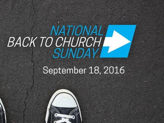 BACK TO CHURCH 2016