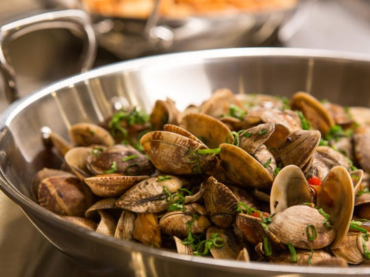 The new Toucan Charlie's is serving a variety of shellfish and other seafood.