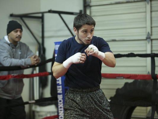Boxer Ruben Villa, Jr.